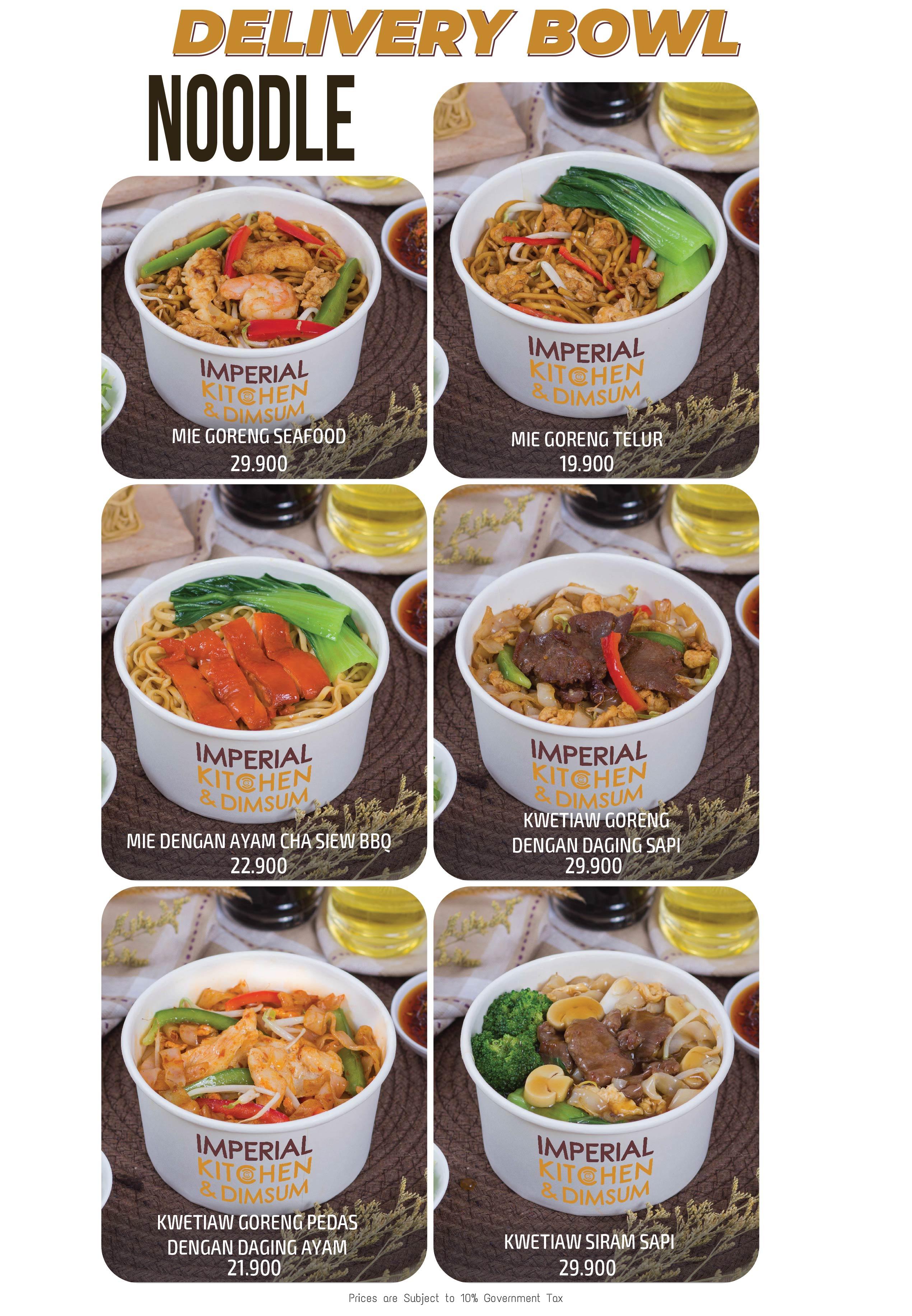 Delivery Bowl - Noodle