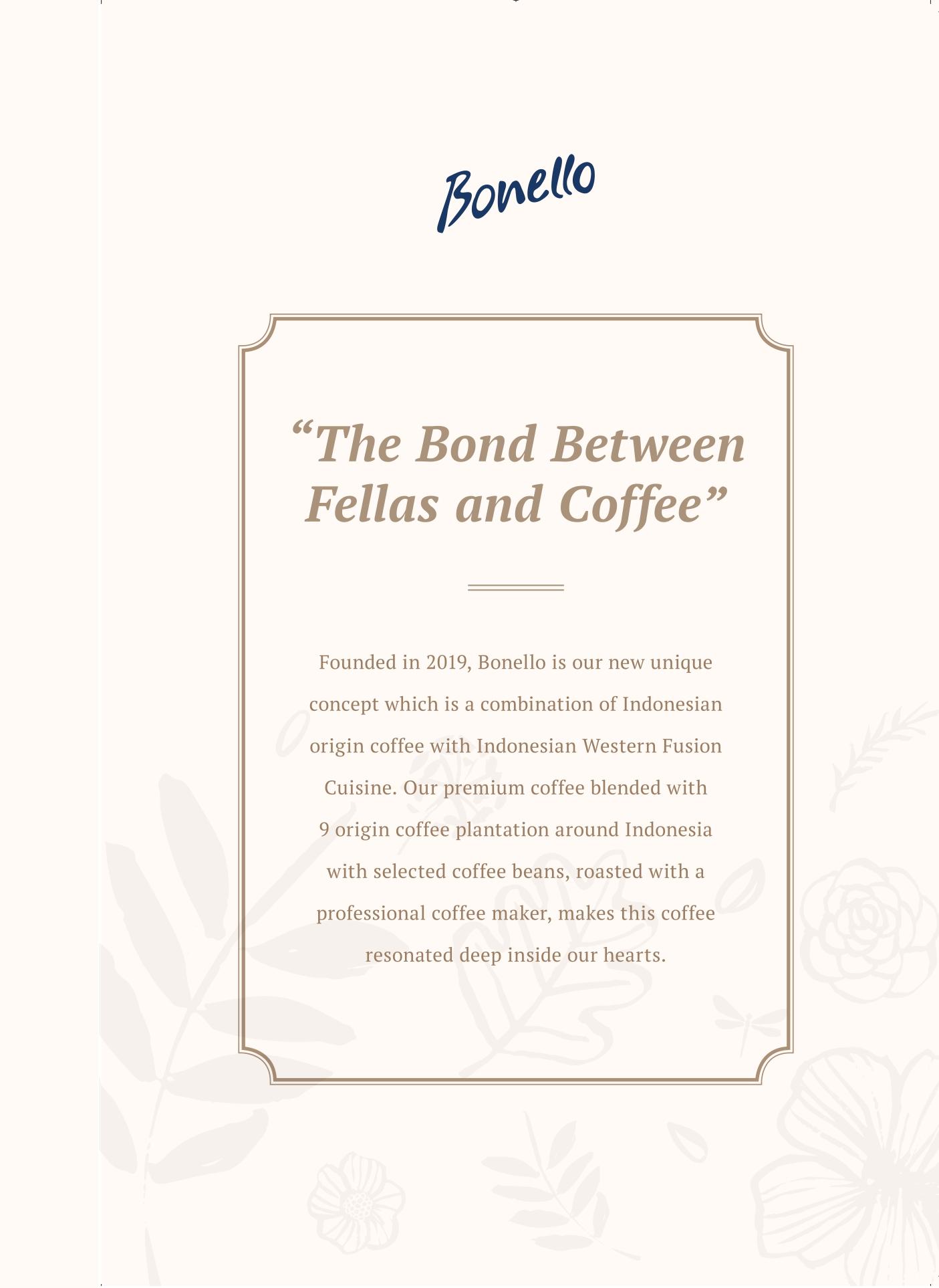 Bonello Menu - Page 1