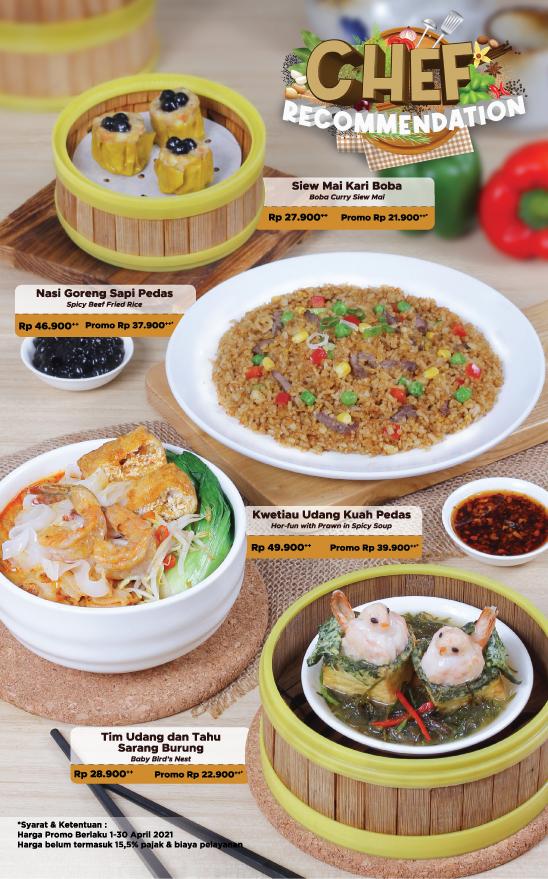 Imperial Kitchen Menu - Page 1